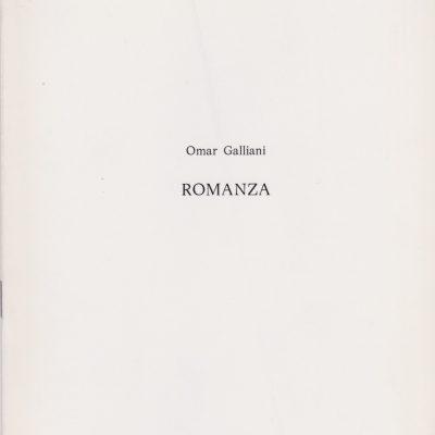 OMAR-GALLIANI-ROMANZA-GALLERIA-DARTE-CONTEMPORANEA-SIRACUSA-1981